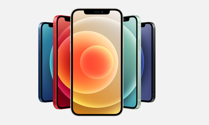 iPhone12色